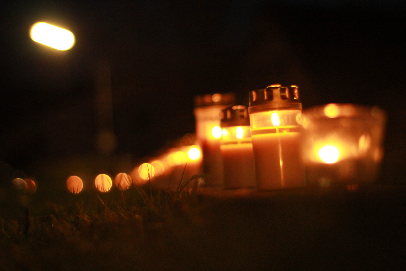 Bild der Dachauer Lichterkette